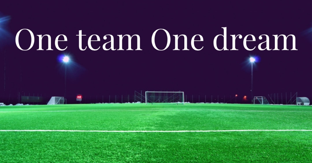 One Team One Dream!